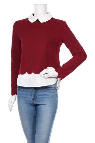 Дамска блуза SHEIN, Размер S, Цвят Червен, 5% еластан, 95% полиестер, Цена 13,23лв.