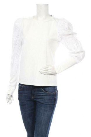 Дамска блуза SHEIN, Размер M, Цвят Бял, 95% полиестер, 5% еластан, Цена 13,23лв.