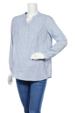 Дамска блуза Seasons, Размер M, Цвят Син, Памук, Цена 8,82лв.