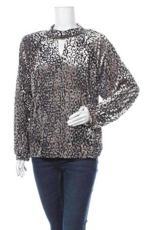 Дамска блуза Soaked In Luxury, Размер XL, Цвят Многоцветен, 67% полиестер, 25% полиамид, 8% еластан, Цена 9,14лв.