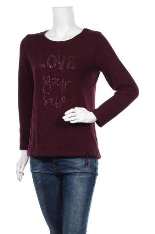 Γυναικεία μπλούζα Sure, Μέγεθος M, Χρώμα Βιολετί, 54% βισκόζη, 42% πολυεστέρας, 4% ελαστάνη, Τιμή 11,69€