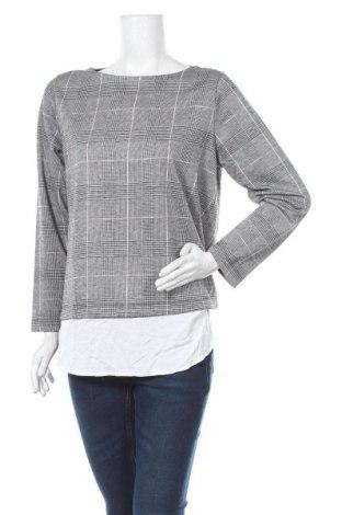 Γυναικεία μπλούζα Suzanne Grae, Μέγεθος M, Χρώμα Γκρί, 70% πολυεστέρας, 20% βισκόζη, 9% πολυαμίδη, 1% ελαστάνη, Τιμή 4,32€