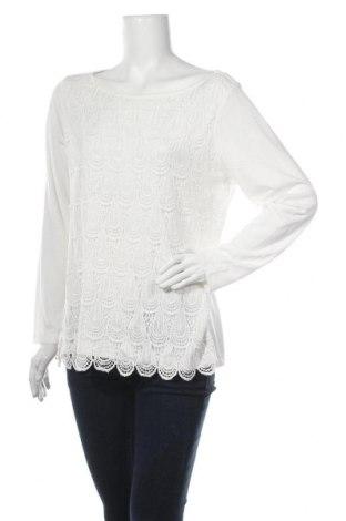 Γυναικεία μπλούζα Suzanne Grae, Μέγεθος L, Χρώμα Λευκό, Πολυεστέρας, βισκόζη, Τιμή 4,09€