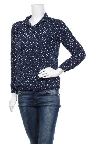 Γυναικεία μπλούζα Tom Tailor, Μέγεθος M, Χρώμα Μπλέ, Βισκόζη, Τιμή 10,00€
