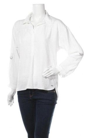 Γυναικεία μπλούζα Tom Tailor, Μέγεθος S, Χρώμα Λευκό, Πολυεστέρας, Τιμή 10,00€