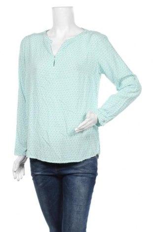 Γυναικεία μπλούζα Tom Tailor, Μέγεθος L, Χρώμα Μπλέ, Βισκόζη, Τιμή 11,43€