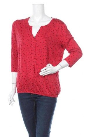 Γυναικεία μπλούζα Tom Tailor, Μέγεθος XL, Χρώμα Κόκκινο, Βαμβάκι, μοντάλ, Τιμή 11,43€