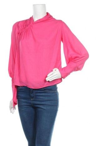 Дамска блуза Topshop, Размер XS, Цвят Розов, Полиестер, Цена 13,44лв.