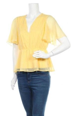 Дамска блуза Vero Moda, Размер M, Цвят Жълт, Полиестер, Цена 16,80лв.