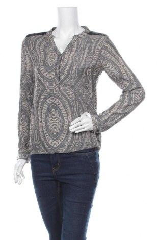 Дамска блуза Vrs Woman, Размер S, Цвят Син, 55% вискоза, 45% полиестер, Цена 14,18лв.