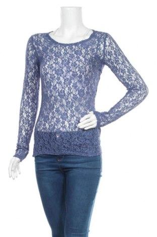 Дамска блуза Vrs Woman, Размер S, Цвят Син, 60% памук, 30% полиамид, 10% еластан, Цена 3,00лв.