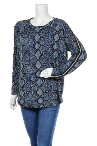 Дамска блуза Vrs Woman, Размер XL, Цвят Син, 95% полиестер, 5% еластан, Цена 14,33лв.