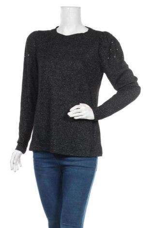 Дамска блуза Vrs Woman, Размер M, Цвят Сив, 73% полиестер, 24% вискоза, 3% еластан, Цена 16,96лв.