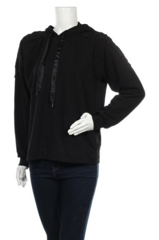 Дамски суичър Vrs Woman, Размер M, Цвят Черен, 95% памук, 5% еластан, Цена 24,57лв.
