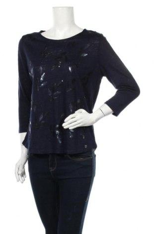 Дамска блуза W. Lane, Размер M, Цвят Син, Лен, памук, Цена 21,00лв.