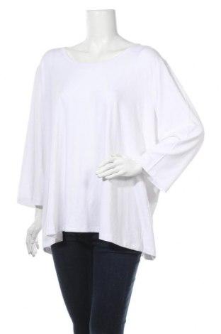 Дамска блуза Yesta, Размер S, Цвят Бял, 94% вискоза, 6% еластан, Цена 25,37лв.