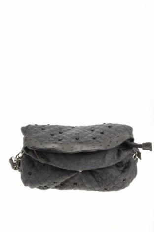 Дамска чанта, Цвят Сив, Текстил, Цена 11,76лв.