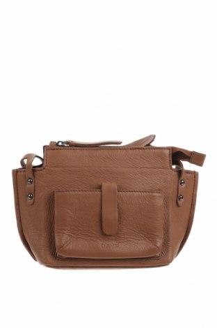 Γυναικεία τσάντα Day Et, Χρώμα Καφέ, Γνήσιο δέρμα, Τιμή 24,94€