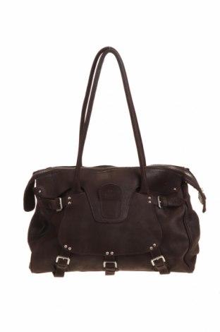 Γυναικεία τσάντα Adax, Χρώμα Καφέ, Γνήσιο δέρμα, Τιμή 47,80€