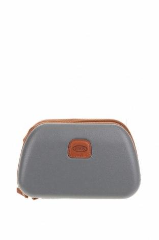 Γυναικεία τσάντα Bric's, Χρώμα Γκρί, Άλλα υλικά, Τιμή 19,74€