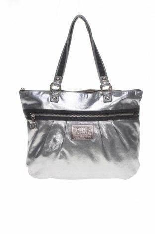 Γυναικεία τσάντα Coach, Χρώμα Ασημί, Κλωστοϋφαντουργικά προϊόντα, Τιμή 40,58€