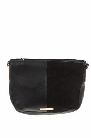 Дамска чанта Colette By Colette Hayman, Цвят Черен, Еко кожа, текстил, Цена 27,93лв.