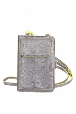 Γυναικεία τσάντα Comma,, Χρώμα Γκρί, Δερματίνη, Τιμή 20,49€