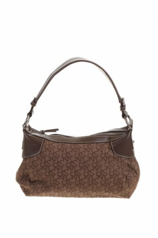 Dámská kabelka  DKNY, Barva Hnědá, Textile , Eko kůže, Cena  867,00Kč