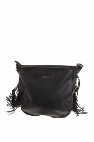 Дамска чанта Invito, Цвят Черен, Еко кожа, Цена 17,64лв.