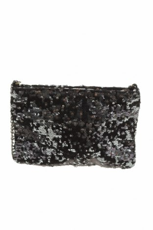 Дамска чанта J.Crew, Цвят Черен, Текстил, Цена 21,60лв.