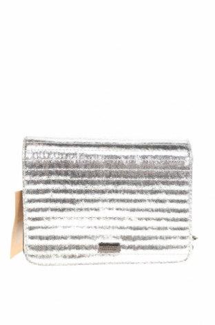Geantă de femei MTNG, Culoare Argintiu, Piele ecologică, Preț 94,08 Lei