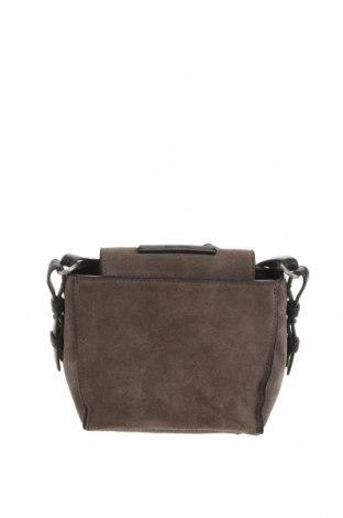 Γυναικεία τσάντα Marc O'Polo, Χρώμα Γκρί, Φυσικό σουέτ, Τιμή 42,61€