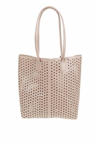 Γυναικεία τσάντα Vero Moda, Χρώμα  Μπέζ, Δερματίνη, Τιμή 26,68€