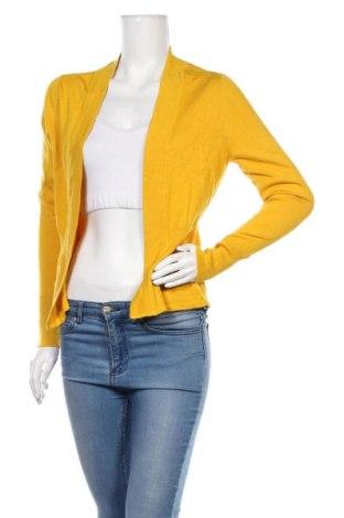 Дамска жилетка Essentials by Tchibo, Размер S, Цвят Жълт, 80% вискоза, 20% полиамид, Цена 21,84лв.