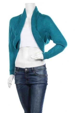 Γυναικεία ζακέτα H&M Divided, Μέγεθος M, Χρώμα Μπλέ, Τιμή 9,38€