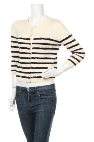 Дамска жилетка Max&Co., Размер L, Цвят Екрю, 89% памук, 11% коприна, Цена 76,76лв.