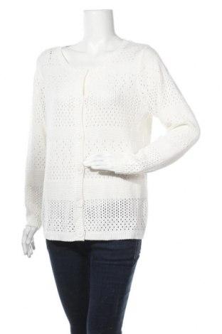 Дамска жилетка Vrs Woman, Размер XL, Цвят Бял, 100% памук, Цена 24,57лв.