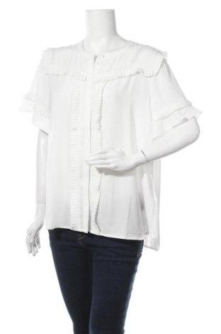 Дамска риза Bruuns Bazaar, Размер XL, Цвят Бял, Полиестер, Цена 89,25лв.