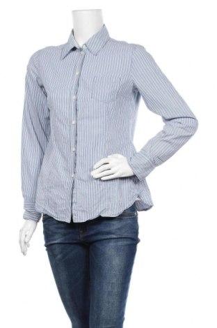 Дамска риза Esprit, Размер L, Цвят Син, Памук, Цена 11,34лв.