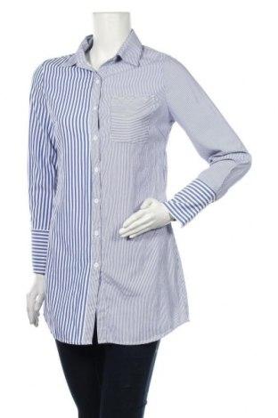Dámská košile  In Vogue, Velikost S, Barva Modrá, 60% polyester, 40% bavlna, Cena  351,00Kč