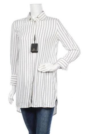 Дамска риза Massimo Dutti, Размер S, Цвят Бял, Вискоза, Цена 55,47лв.