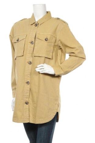 Дамска риза ONLY, Размер S, Цвят Бежов, Цена 23,60лв.