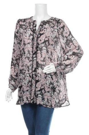 Дамска риза Sussan, Размер XL, Цвят Многоцветен, Вискоза, памук, Цена 5,36лв.