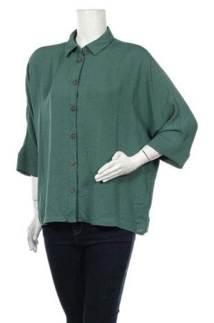 Γυναικείο πουκάμισο Suzanne Grae, Μέγεθος L, Χρώμα Πράσινο, Πολυεστέρας, Τιμή 12,34€