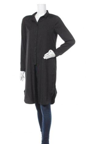 Γυναικείο πουκάμισο Tom Tailor, Μέγεθος M, Χρώμα Μαύρο, Πολυεστέρας, Τιμή 15,00€