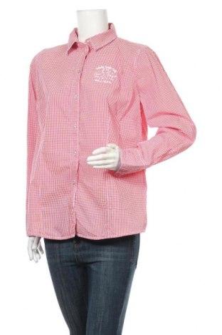 Γυναικείο πουκάμισο Tom Tailor, Μέγεθος XL, Χρώμα Κόκκινο, 100% βαμβάκι, Τιμή 10,00€