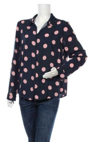 Дамска риза Violeta by Mango, Размер L, Цвят Син, Цена 13,23лв.