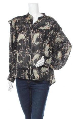 Дамска риза Violeta by Mango, Размер L, Цвят Многоцветен, Полиестер, Цена 26,55лв.