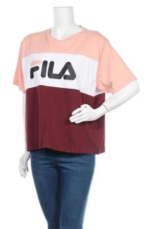 Дамска тениска Fila, Размер XXL, Цвят Многоцветен, Памук, Цена 29,40лв.