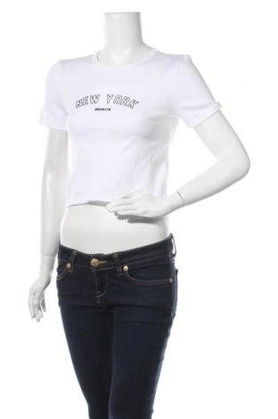 Dámské tričko Topshop, Velikost M, Barva Bílá, Bavlna, Cena  237,00Kč